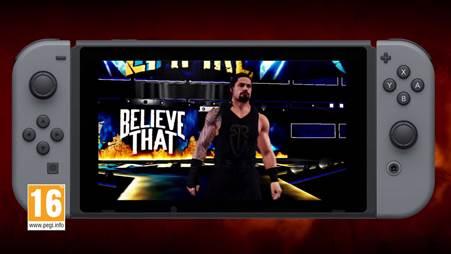 WWE 2K18: annunciata la data d'uscita su Switch