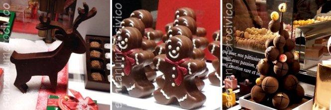 decorazioni di cioccolato