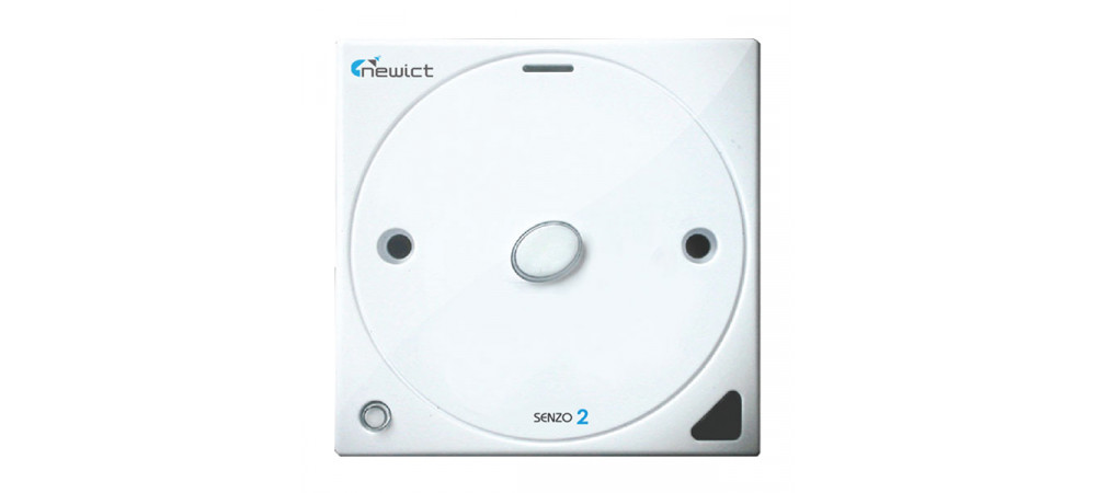 Senzo 2 Smart Switch with 1 On/Off (White)