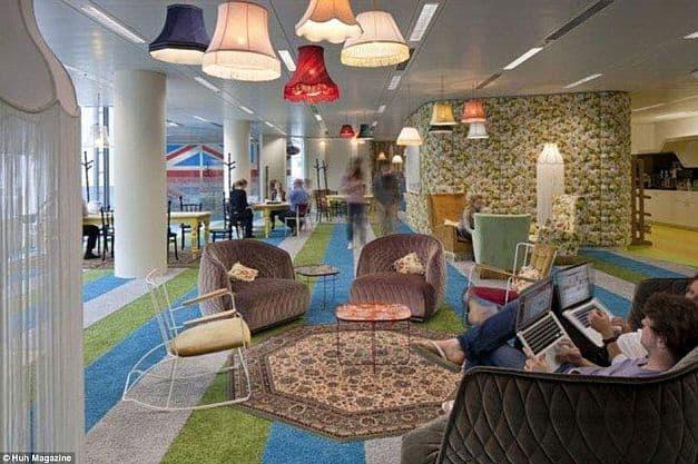 المكتب الجديدة لشركة جوجل بريطانية