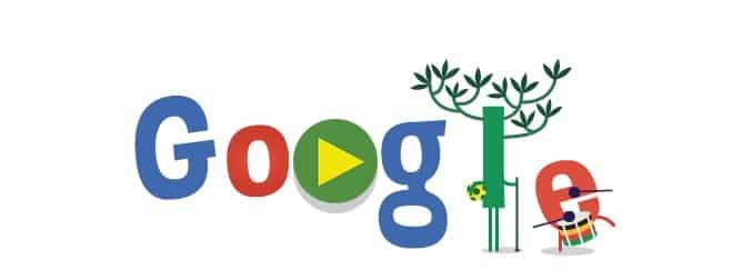 خربشات جوجل شعار المونديال اليوم الثاني