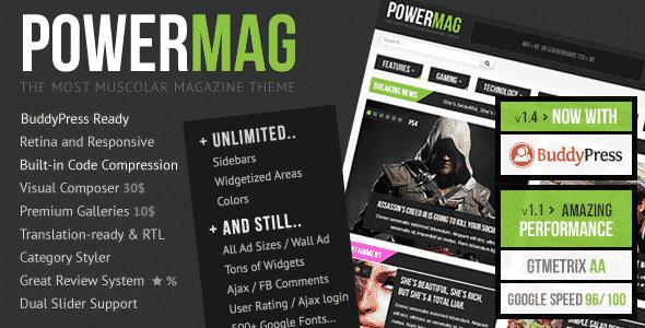 PowerMag قالب