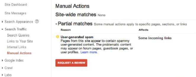 عقوبة جوجل نتيجة اكواد ضارة ينشرها المستخدم