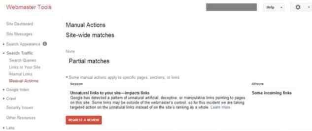 عقوبة جوجل نتيجة الروابط الخلفية
