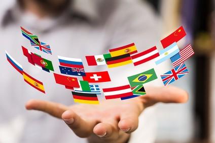 Mehrsprachige Webseiten auf deutsch englisch und spanisch