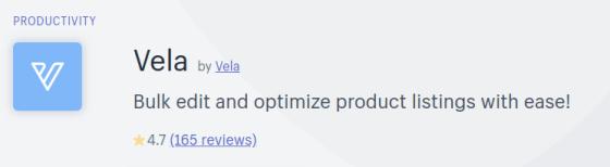 Vela App