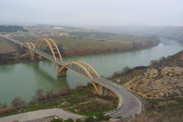 Río Ebro en su trampo medio
