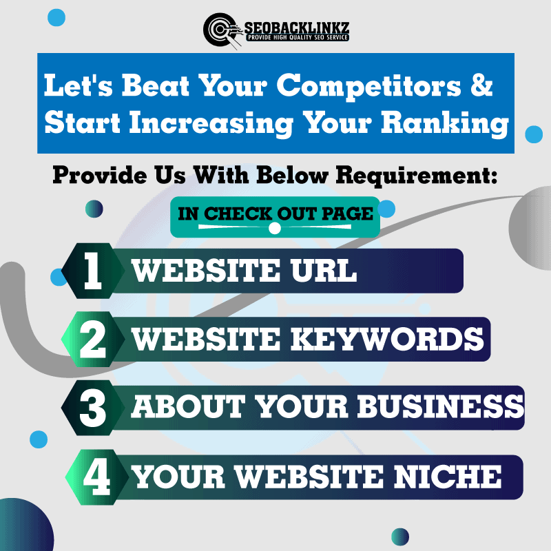 SEO Backlinks Requirement