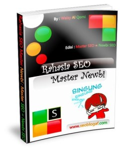 cover Rahasia Master SEO Newbi