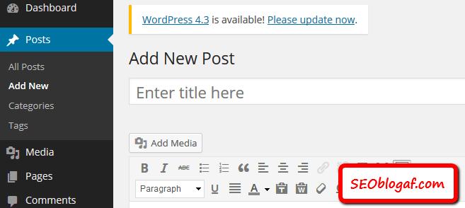 Cara Mudah Memposting/ Publish Artikel di Blog WordPress