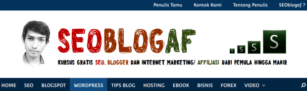 Header blog keren seoblogaf