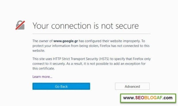 3 Cara Mengatasi Your Connection is Not Secure pada Mozilla dan Google Chrome