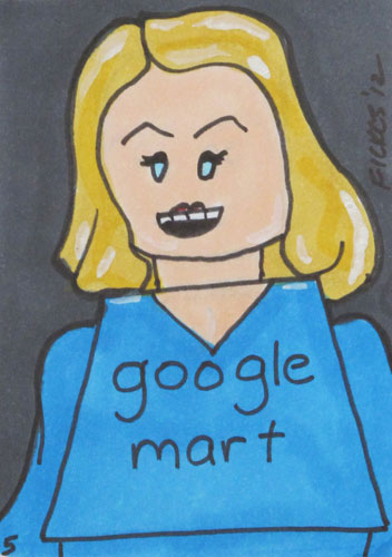Marissa Mayer Drawing.