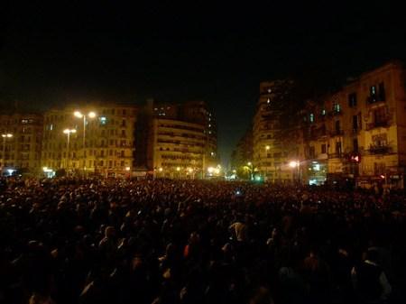 Mob in Egypt. CC Licensed by Al Jazeera.