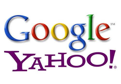 Yahoo Y Google juntos