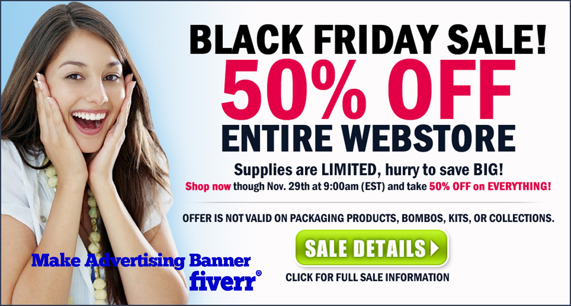Create Exclusive Advertisement Banner For 5