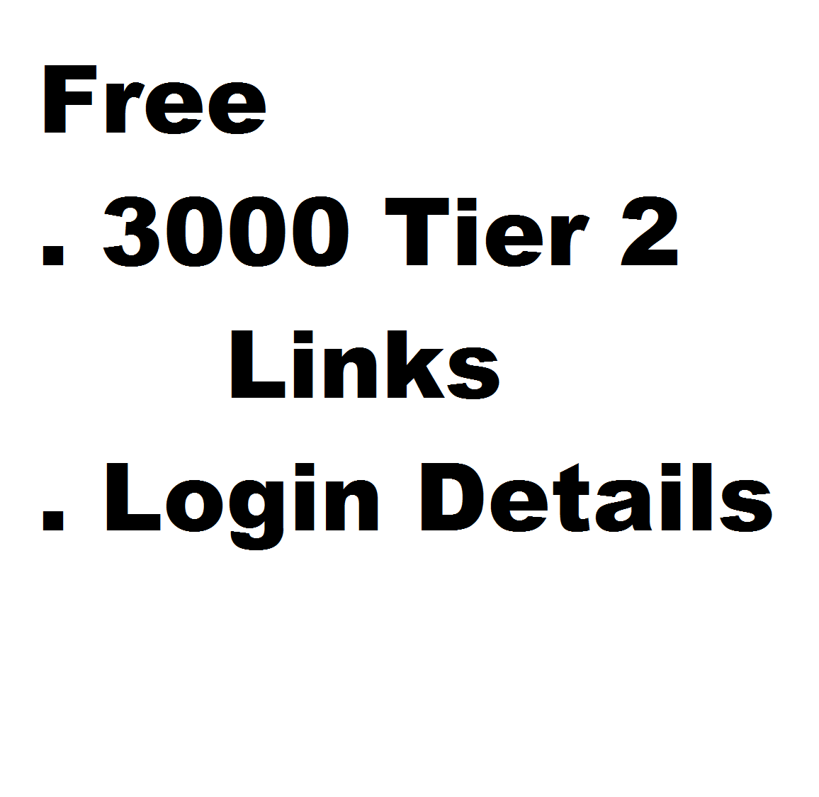 Dofollow 150+ High Authority seo link building DA 50 to 99