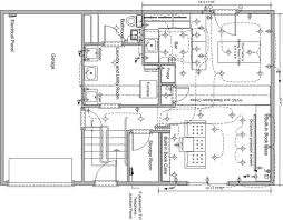 create a proper floor plan with standard scale