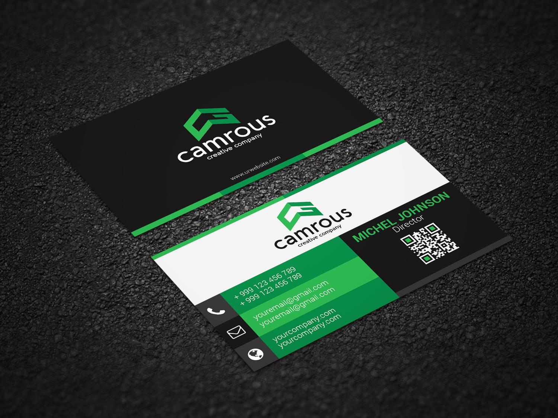 design 2 unique business card and letterhead for 10