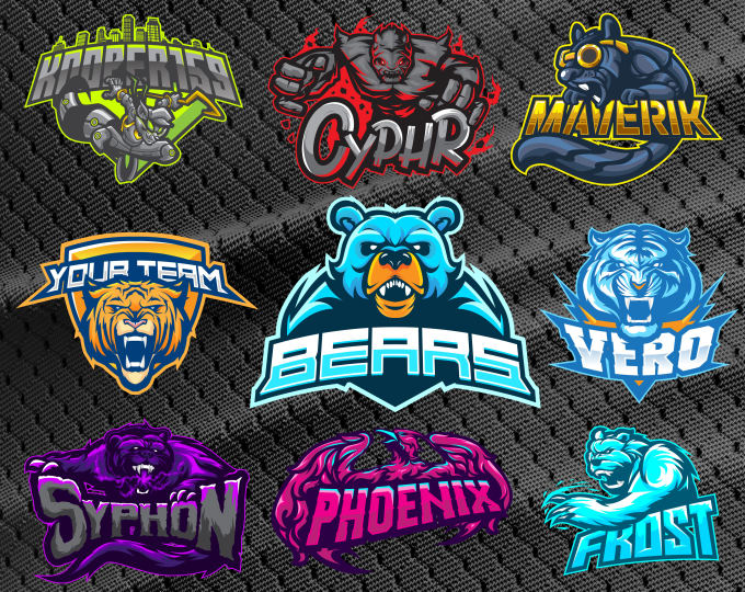 Design Awesome Mascot Logo For Esports Twitch Sports