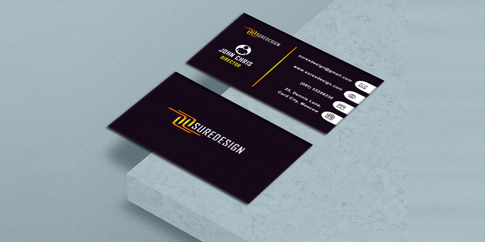 Design A Unique Business Card For You for 1  SEOClerks
