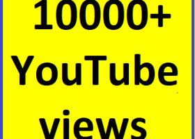 5000-6000 High Quality YouTube vie'ws non drop guaranteed instant start