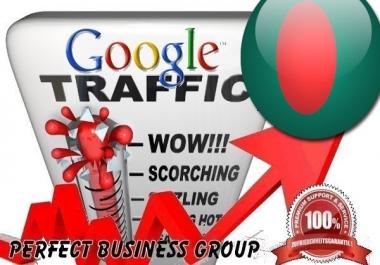I send 1000 visitors via Google.com.bd by Keyword to your website