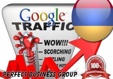 I send 1000 visitors via Google.am Keyword to your website