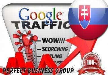 Organic traffic from Google.sk (Slovakia) with your Keyword