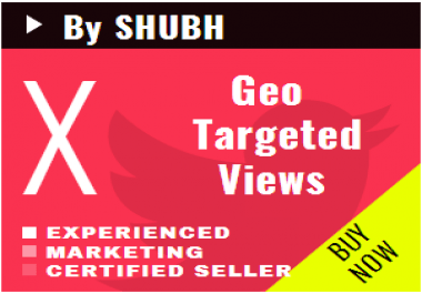 Add 1000 Geo Targeted Youtube Views