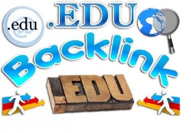 Prepare 800 Edu Blog comments backlinks for your website