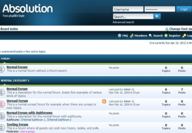install a forum on your website