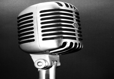 Professional High Quality Voice Over