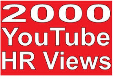 1000+ High Retention Youtube Views