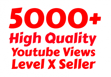 I will add 5000+ ( Suggested ) Youtube vie w