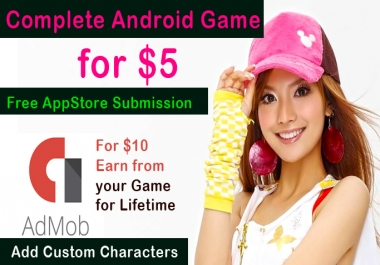 make a ready to publish  nice android game