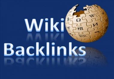 Wikipedia Backlink High Authority on google ranking