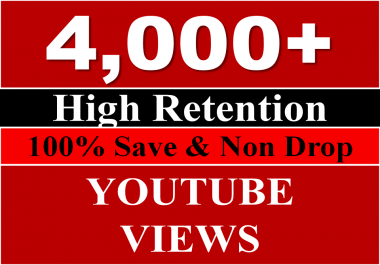 Get 3000 to 4000+ Youtube Views OR 7,00+ Likes