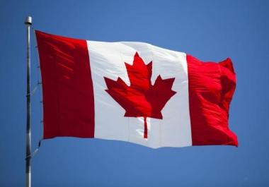 5000 CANADA Traffic Website Visitors