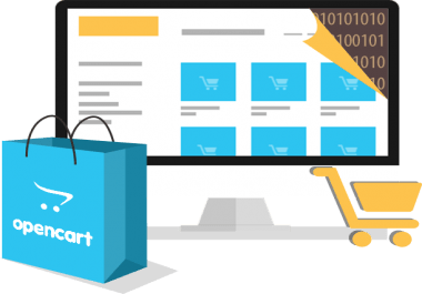 opencart coding error and theme fixing