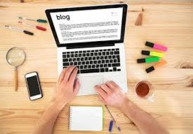 Fast Blog writing on any topic