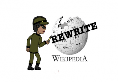 2018 Powerful Google Algorithm - WIKIPEDIA REWRITE PACK - 3x accuracy to rank your site