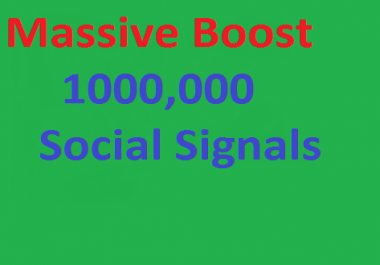 Massive Instant Boost social shares for you 100,000 SEO Social Signals best social bookmarks