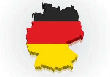 Send German Visits, Traffic From Germany, Switzerland, Austria