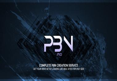PBN Creation Service