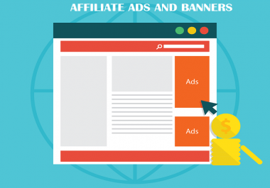 Add Amazon Affiliate ads, codes and banners to your Site