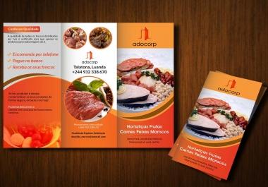 Design A Unique Flyer And Business Brochure