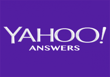 Promote  your website and keywords with 5 High Quality Yahoo Answer