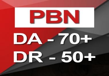 Do 8 PBN DA 25+ Homepage Backlinks