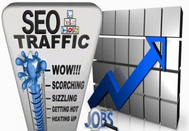 Real human visitors via Ask, Bing, Google, Yahoo by Keywords to your website (SEO BOOST)